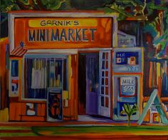 Local Los Angeles artist Kikki Eder loves to capture interesting structures, people and L.A. scenes in her colorful paintings. We like to visit the neighborhoods she depicts as we drive around Los Angeles with our private luxury tour guests. Art guides us as much as we are guides to Los Angeles art.
