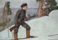 Ilveksenhiihtäjä (1900)