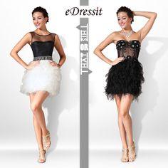 eDressit little black dress