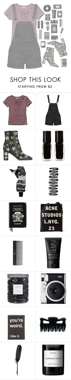 """""""Shoutout for forever-and-always-swiftie // #12"""" by fashion1oh1 ❤ liked on Polyvore featuring Hollister Co., Boohoo, Valentino, The New Black, Aesop, Aspinal of London, Acne Studios, Sephora Collection, NARS Cosmetics and Threshold"""