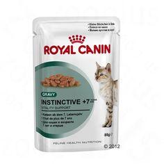 Animalerie  Royal Canin Instinctive 7 en sauce pour chat  24 x 85 g