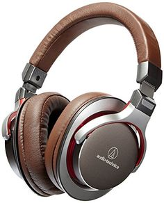AudioTechnica ATHMSR7GM SonicPro OverEar HighResolution Audio Headphones Gun Metal Gray Certified Refurbished -- Continue to the product at the image link-affiliate link. #BestHeadphones