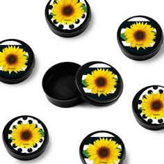 Diy And Crafts, Party, Mini, 40th Birthday, Sunflower Birthday Parties, Sunflower Party, Party Items, Sunflowers, Invitations