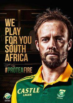 Protea Fire Ab De Villiers Test Cricket Virat Kohli Ghost Rider Sports