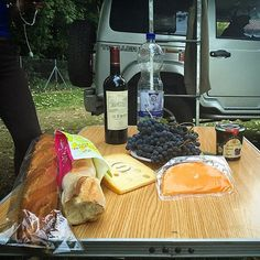 Baguette, wine and cheese? France!