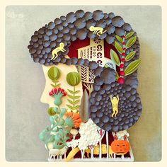 Paper Art by Elsa Mora