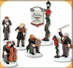 Holiday Quintet Dickens Village