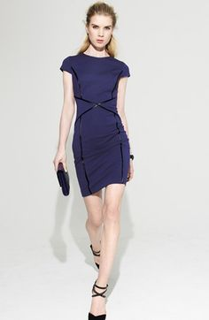 Cynthia Steffe Sheath Dress & Accessories  available at #Nordstrom