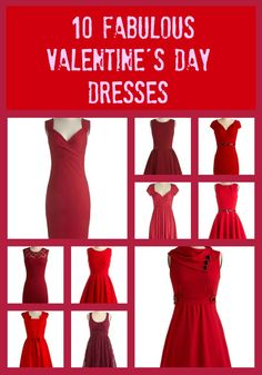10 fabulously cute Valentine's Day Little Red Dresses