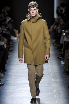 Great coat at Bottega Veneta AW13.