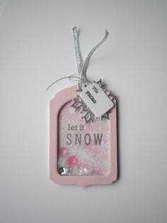 Let It Snow shaker tag | Flickr - Photo Sharing!