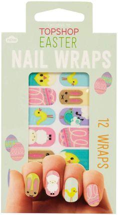 Topshop Easter Print Nail Wraps