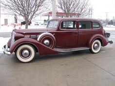 1937 Packard Touring Sedan - (Packard Motor Car Company Detroit, Michigan 1899-1958)