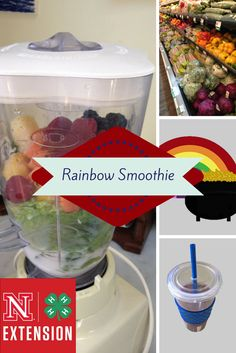"Enjoy a refreshing ""ToGo"" Smoothie packed with fruits and vegetables. http://www.nutritionknowhow.org/blog/c/find-a-pot-of-golden-health-with-a-rainbow-smoothie/#"