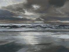 Fiona Haldane, Morning Tide, Tay Estuary, Pastel | Contemporary Scottish Art – Eduardo Alessandro Studios