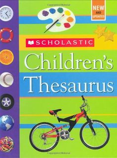Scholastic Children's Thesaurus by John Bollard http://www.amazon.com/dp/0439798310/ref=cm_sw_r_pi_dp_U2Dswb04KKSJ1