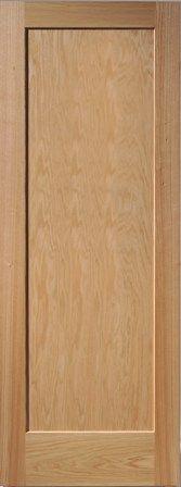 8ft Interior Panel Doors. Hardwood