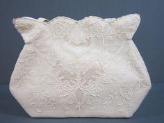 Vintage Cloth Purse Lined Handbag Floral by DiverseCollectibles #handbag #vintagepurse #purse