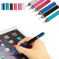 Neue 2 in 1 Stylus Stift Metall Kugelschreiber Zeichnung Kapazitiven Touchscreen Stylus Kugelschreiber Für iPad Tablet Laptop 6 farben