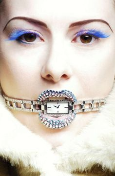 Models Do the Odd Just for You #halloween #eyelashes trendhunter.com