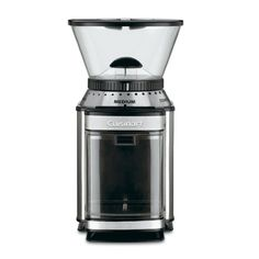 Cuisinart DBM-8 Supreme Grind Automatic Burr Mill - Overstock™ Shopping - Great Deals on Cuisinart Coffee Makers