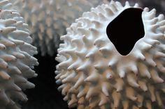 PrickleS by Nathalie Hendrickx Ceramics Underwater World, Porcelain, Ceramics, Inspired, Unique, Artwork, Handmade, Inspiration, Ceramica