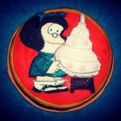 Torta de #Mafalda! Comunícate con nosotros al 04244687489/04144849866 ó a cacaofiestavenezuela@hotmail.com by cacaofiesta_venezuela