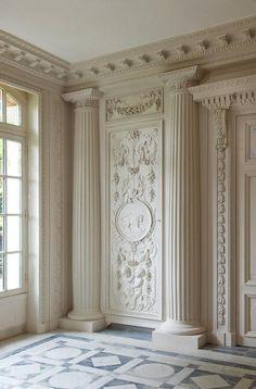 Claude-Nicolas Ledoux, architect Interior design for boiserie in the Louis the 16th style, 18th century