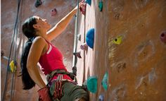 Groupon - One Day of Indoor Rock Climbing for 2 or 10, or Three-Month Membership for One to Hansen Mountaineering (Up to 71% Off). Groupon deal price: $12.00