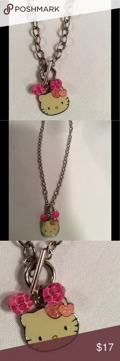 🌺CUTE HELLO KITTY CHILDREN'S NECKLACE. SO CUTE. 🌺CUTE HELLO KITTY CHILDREN'S NECKLACE. VERY CUTE. HELLO KITTY Accessories Jewelry