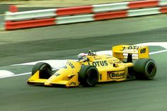 Satoru Nakajima, Lotus, 1987.