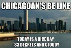 Image result for chicago weather memes