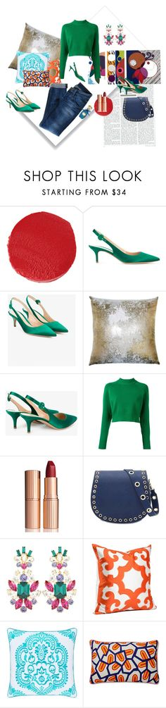 """""""...then I got home and kicked off my shoes"""" by c-dastyle ❤ liked on Polyvore featuring Chantecaille, Gianvito Rossi, DKNY, Charlotte Tilbury, Marc B, Dolce&Gabbana, J. Queen New York, Hudson Jeans and Annick Goutal"""
