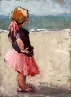 """well....."" -  carol carmichael   (If you think I am taking my pink tutu off to go in that ocean, you don't know me, do you?)"