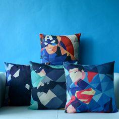 Marvel Movie Avengers Super Hero Pillowcase housse de coussin Cushion Decorative Pillow Home Decor Throw Pillow Cushion Dream Bedroom, Kids Bedroom, Avengers Film, Marvel Movies, Home Textile, My Room, Decoration, Decorative Throw Pillows, Diy Gifts