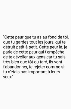 L'histoire de ma vie... Bad Quotes, Some Quotes, French Words, French Quotes, Hurt Feelings, Bad Mood, Pretty Words, Arabic Words, Queen Quotes