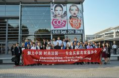 Chinese Delegation welcomed at the exhibition hall on Day 1 ! 50 premium chinese beauty buyers attending to meet Cosmeeting exhibitors.