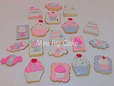 Sweet candura cookies