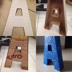 2 foot glittered 3D letters - We can make an N, C, and S, (maybe and H as well). Or a big P-A-T-R-I-O-T-S