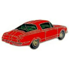 "1964 Plymouth Barracuda Car Pin Red 1"" by FindingKing. $8.99. This is a new 1964 Plymouth Barracuda Car Pin Red 1"""