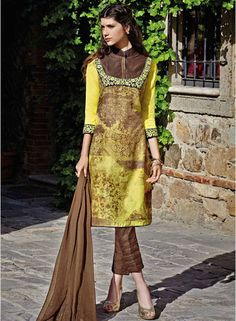 Buy Floral Creations Multicoloured Embroidered Dress Material for Women Online India, Best Prices, Reviews   FL680WA43IZKINDFAS