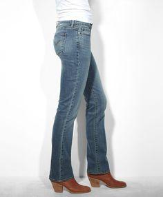 Levi's Classic Rise Slight Curve Straight Jeans - Rocking Blue - Slight Curve