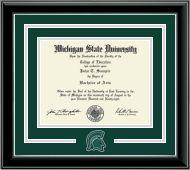Loving this tartan green and silver mat look! #EarnItFrameIt @diplomaframe