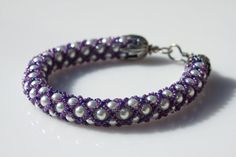A fashion look created by Syl CameoJewels featuring Frames-blue, MADE TO ORDER Purple Netted Bracelet Netted Woven Bracelet Netted Bracelet, Seed Bead Bracelets, Flower Bracelet, Seed Beads, Bangle Bracelets, Bangles, Dainty Necklace, Simple Necklace, Minimalist Necklace