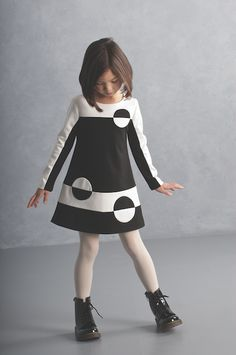 This stylish Biscotti dress is designed with retro flair and is great for everyday wear as well as special occasions. This boutique girl dress is made from a thicker knit fabric and is lined which makes it perfect for cooler fall days. Free ship in July Little Dresses, Little Girl Dresses, Girls Dresses, Little Girl Fashion, Kids Fashion, Fashion Games, Fall Fashion, Korean Fashion, Fashion Trends
