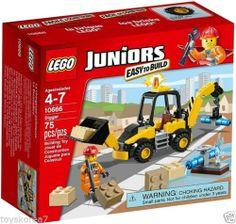 LEGO Juniors 10666 Digger NEW Factory Sealed