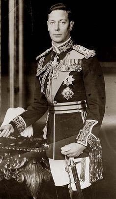 King George VI. It was taken between 1940 and 1946