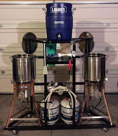 """Uanitus - Two Tier Single Pump Half Barrel System Build - Cody """"cjones"""" Jones - 2-2679.jpg"""