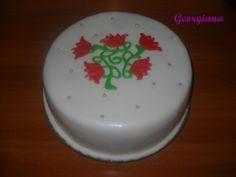 Tort cu lalele. Cake, Desserts, Food, Tailgate Desserts, Deserts, Kuchen, Essen, Postres, Meals