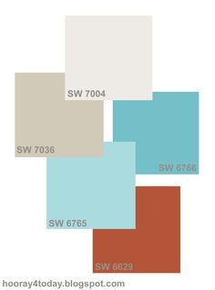 pretty paints | Hooray 4 Today            #paint #interiordesign #colors #colorscheme